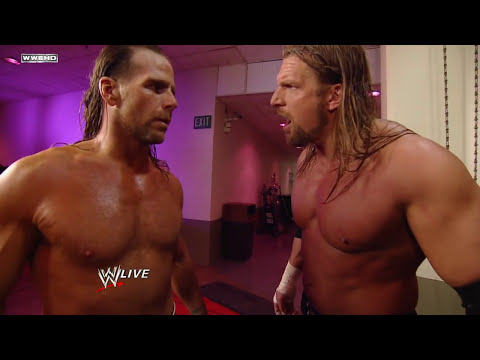 Raw: Shawn Michaels takes out his frustrations on Theodore