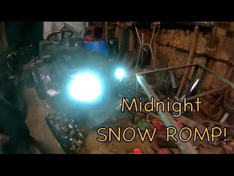 Midnight Snow Romp