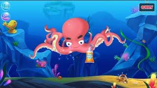 Trò chơi bác sĩ đại dương khám bệnh cho các loài cá mập , voi , mực cu lỳ chơi game