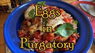 What's Cooking? - Eggs in Spicy Tomatoes (Shakshuka)