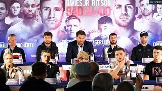 Eddie Hearn & Matchroom Boxing Robbie Davies Jr vs Lewis Ritson FULL PRESS CONFERENCE