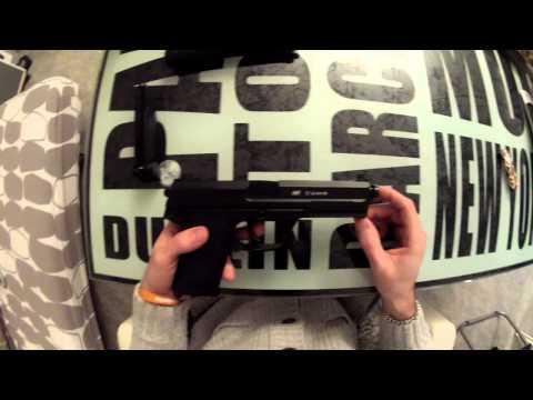 (Airsoft) Review / Présentation Mk 23 ASG / Mk23 STTI KJW GNB GAZ Pistol FR