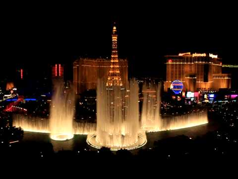 Bellagio Fountains Show - viva Las Vegas video