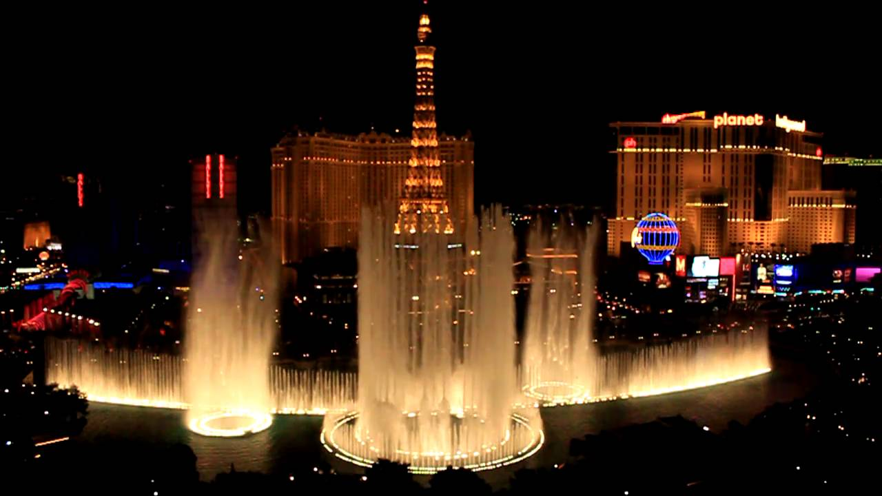 Bellagio fountains show viva las vegas youtube for Las vegas fountain