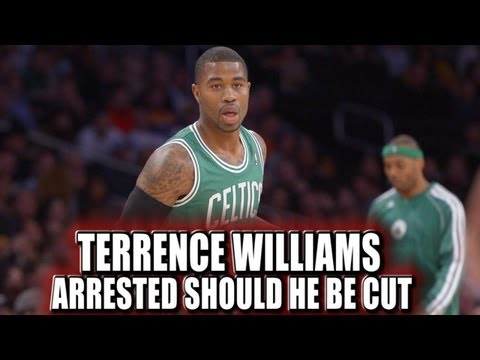 Terrence Williams Boston Celtics arrested for waving gun at mother of his 10 year old son