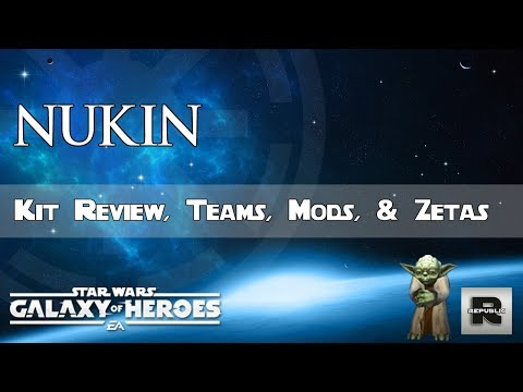 Star Wars Galaxy of Heroes : First Look at Hermit Yoda