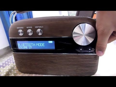 Saregama Carvaan radio Portable music player unboxing and short review hindi