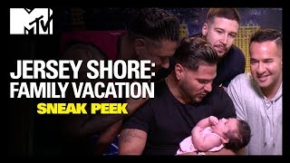 Ronnie's Baby Doesn't Need A DNA Test   Jersey Shore: Family Vacation   MTV