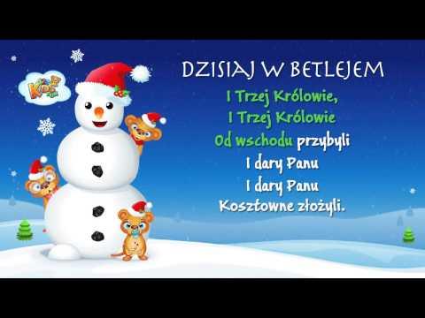 Dzisiaj W Betlejem - Polskie Kolędy - Karaoke