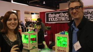 Thing-O-Matic! MakerBot Industries at CES 2011