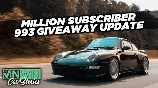 We're giving away Ed's Porsche 993!
