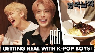 Eating Through Half the Menu with KPOP Idols: NCT!