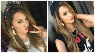 """Becky G """"Shower"""" Inspired Makeup & Outfit l Christen Dominique"""