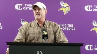 Scott Studwell retiring; GM Rick Spielman emotional with announcement