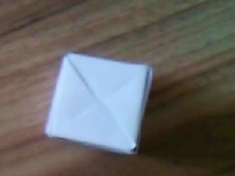 ¬идео как сделать куб