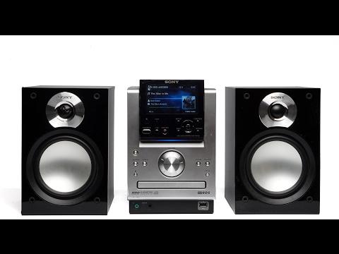 Sony NAS-50HDE Gigajuke HDD / CD / radio / MP3 audio set