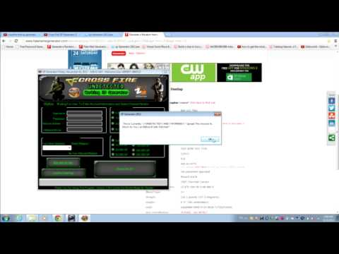 How to download crossfire ZP genorator