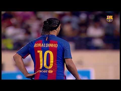 PARTIDO COMPLETO: FCB Legends - Real Madrid Leyendas (3-2)