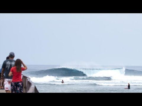 Siargao Cloud 9 Surfing Cup - Day 1