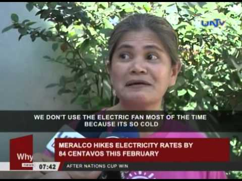 MERALCO, customers to deal with higher rates this February
