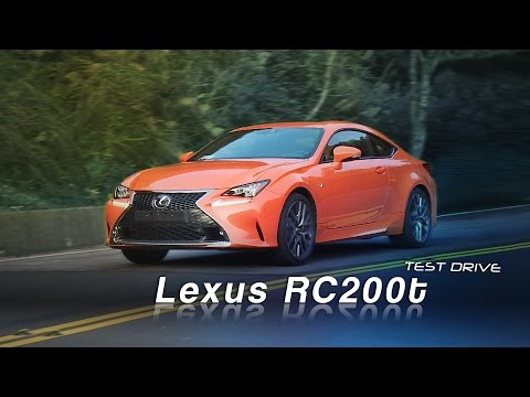 Lexus RC 200t F Sport Navi試駕:純正日系雙門轎跑