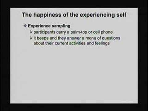 Explorations of the Mind: Well-Being with Daniel Kahneman