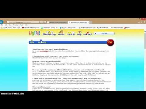 How to get a membership on fantage! (free) June 2013 Music Videos