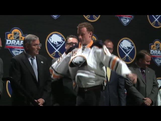 Jack Eichel Mic'd Up for the 2015 NHL Draft