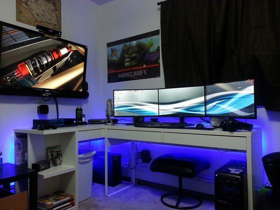 Ultimate Gaming Setup 2014 Part 2 Youtube