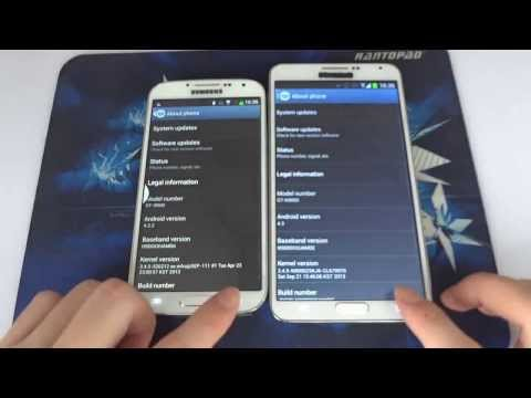 Note 3 VS S4 ? HDC Galaxy Note 3 N9000 VS HDC Galaxy S4 Legend Hands On Review