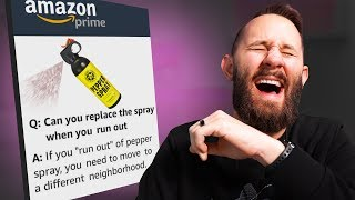 I Bought 10 Products With The FUNNIEST Amazon Reviews!