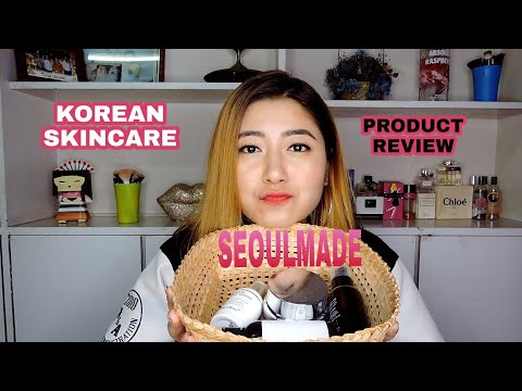 Review on new tested skincare line // SEOUL-MADE // Korean skincare / Maggie Ayekpam