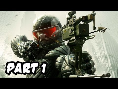 Crysis 3 Gameplay Walkthrough – Part 1 – Mission 1: Post Human (Xbox 360/PS3/PC HD)