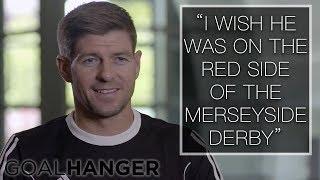 Steven Gerrard on Wayne Rooney FULL INTERVIEW   Wayne Rooney: The Man Behind the Goals