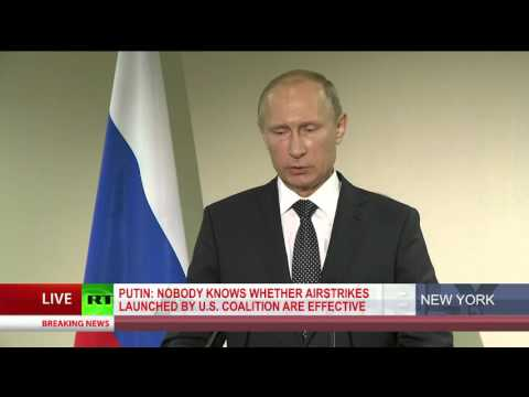 Putin: Obama and Hollande are not Syrian citizens, can't decide Syria's future