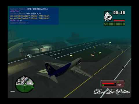 Gta San Andreas - Como subirse al AT400 - Loquendo