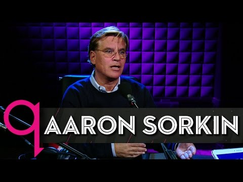 """Steve Jobs"" screenwriter Aaron Sorkin in studio q"