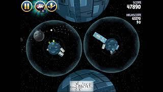 Angry Birds Star Wars Level 2-3 Death Star 3 Star Walkthrough