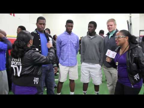TwinSportsTV: Interview with Roswell High School Football players