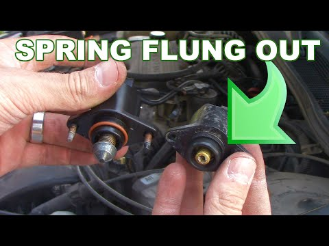 How to replace an idle air control (IAC) valve
