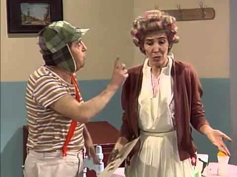 Clube do Chaves - Chaves se torna garçom e O grude no restaurante - Episódio inédito (Espanhol)