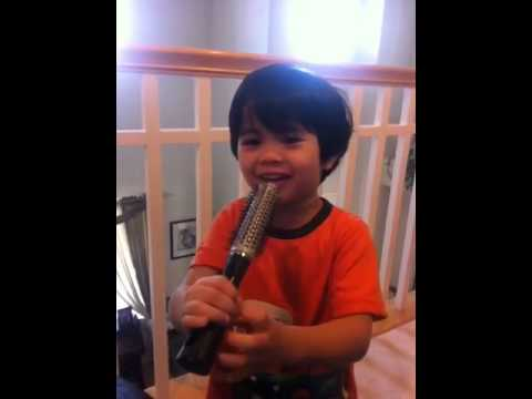 Ryan Andre Singing Only You, Gangnam Andre Style, And Other Kiddie Songs video