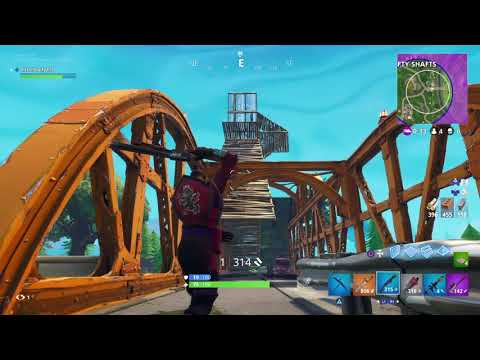 Fortnite Gameplay dub first game on