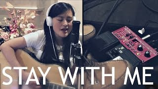 """Stay With Me"" by Sam Smith (Live Loop Pedal Cover by Marina Lin)"