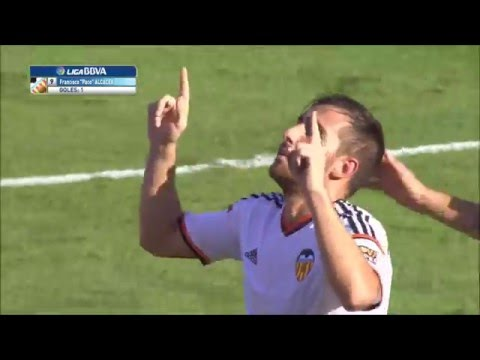Paco Alcacer-Mr Valencia-Goals and Skills