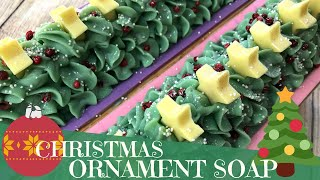 Making Of Deck The Halls Cold Process Soap | 🎄 GYPSYFAE CREATIONS