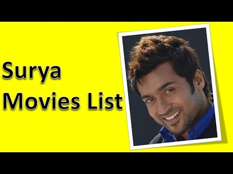 Surya Movies List
