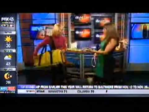 Fox News Baltimore on Nov. 13 2013 with Dana Humphrey - Pet Travel Tips for Thanksgiving