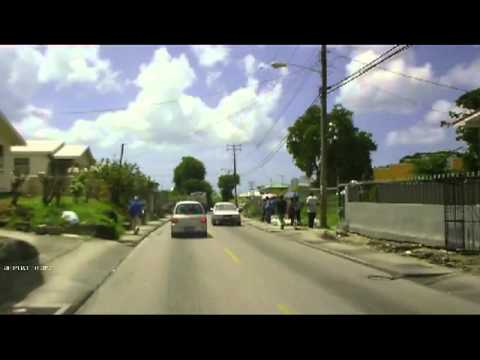 Driving In Barbados - Brigetown Journey