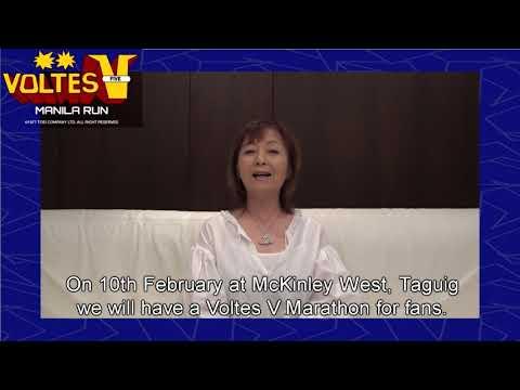 Voltes V Run Manila 2018 Invitation By Horie-San